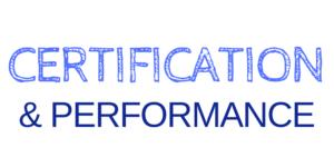 Logo Certification et Performance